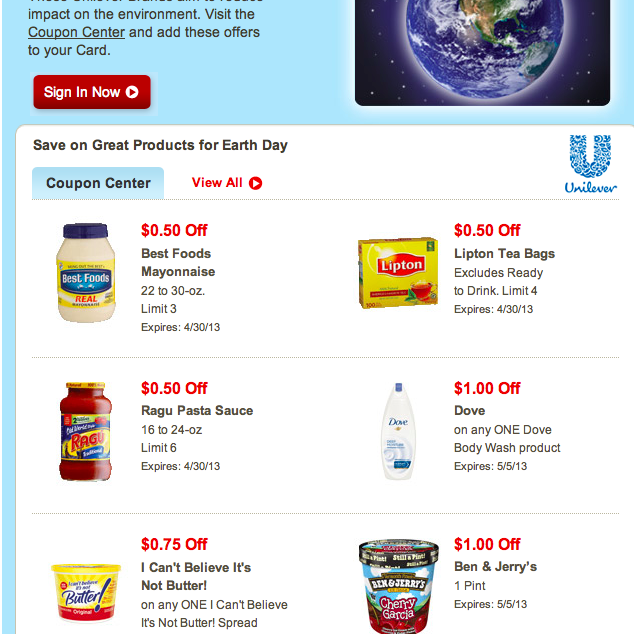 Earth Day products