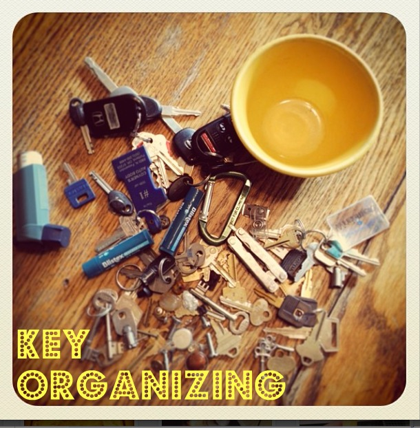 key organizing