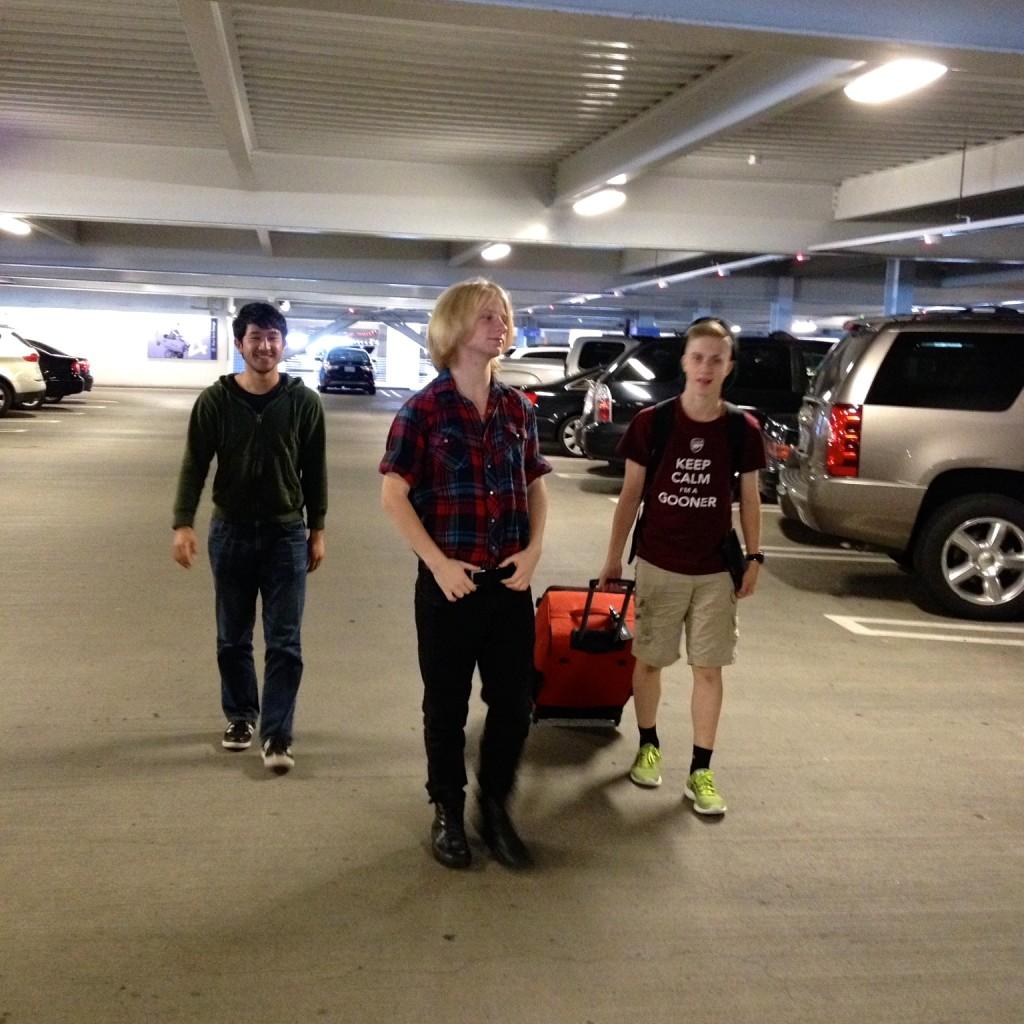 Airport boys