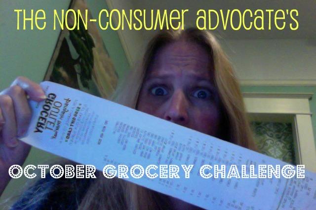 october grocery challenge