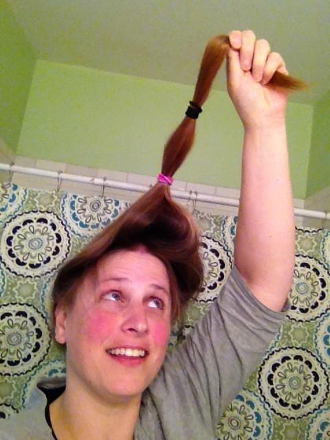 1st ponytail