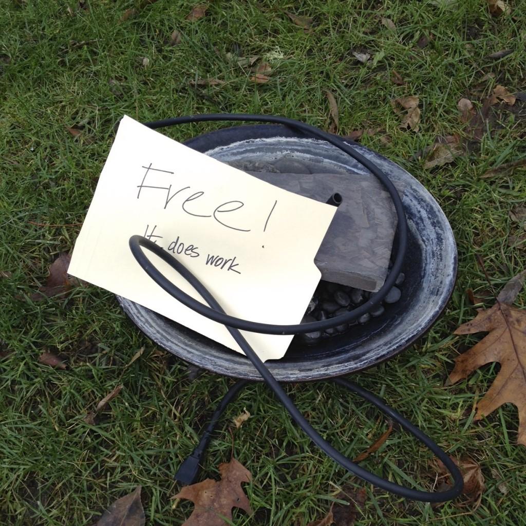 Free fountain