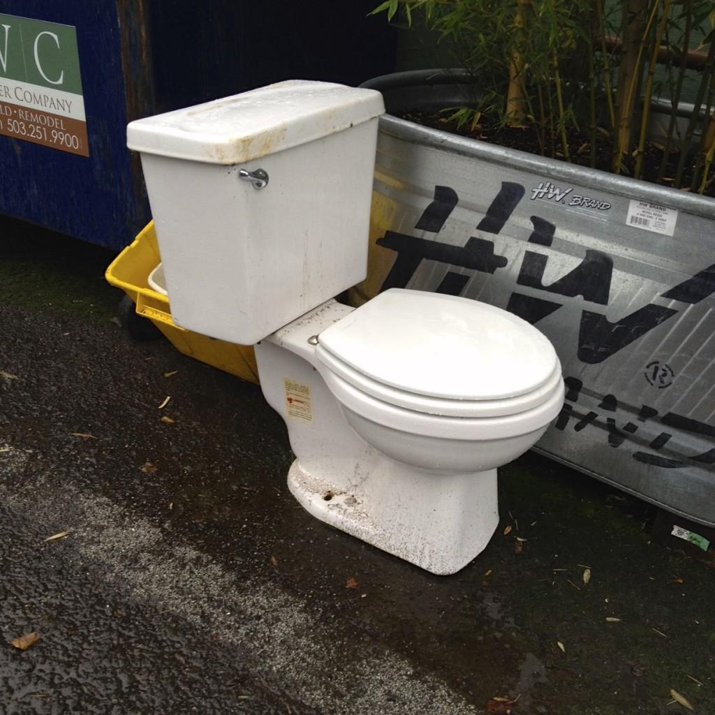 Free toilet seat