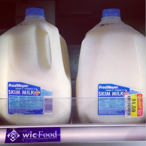 Cheap milk