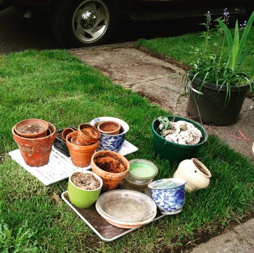 Free flowerpots