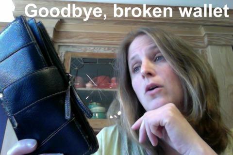 broken wallet