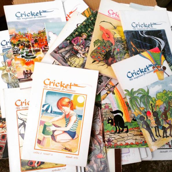 Cricket magazines
