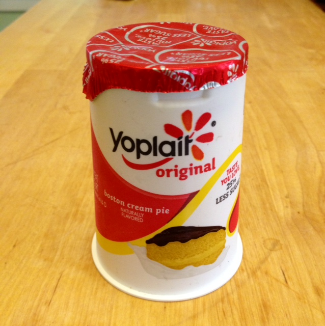 Boston Cream Pie yogurt