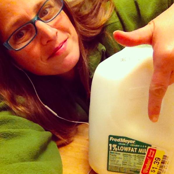 Cheap milk crazy lady