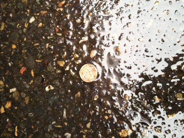 Wet penny