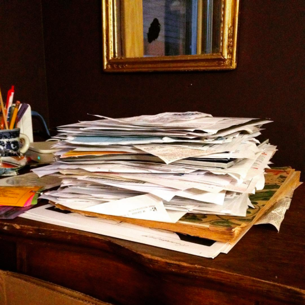 A blizzard of paperwork