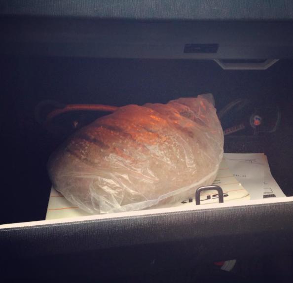 Prius bread box