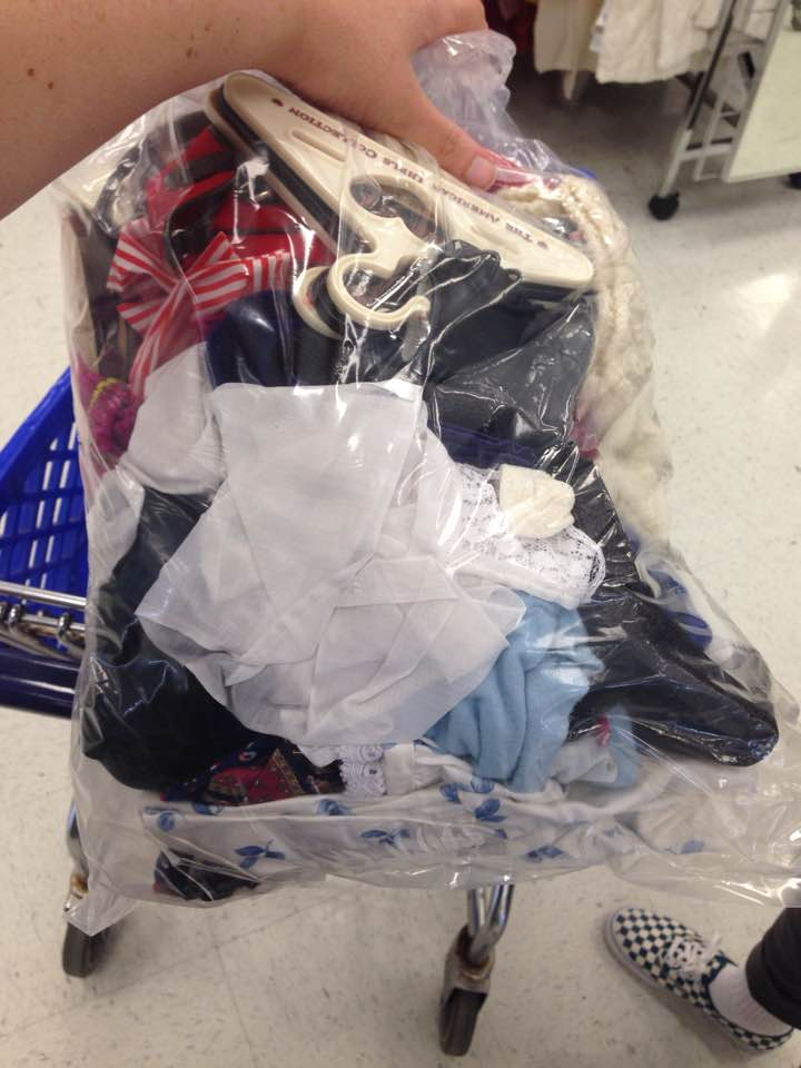 Bag o clothes