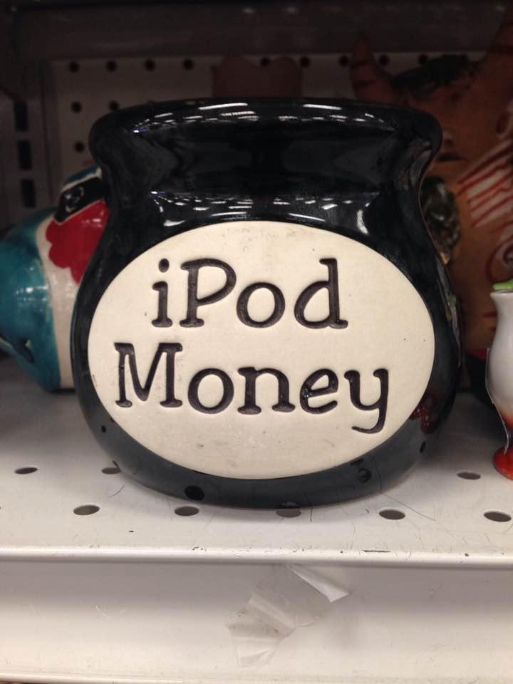 iPod money