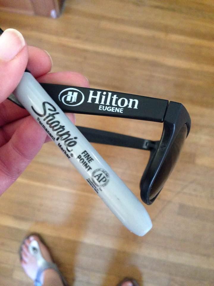Hilton glasses