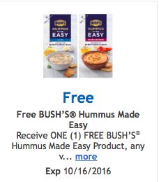 free hummus kit