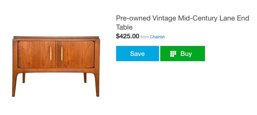 Chairish table