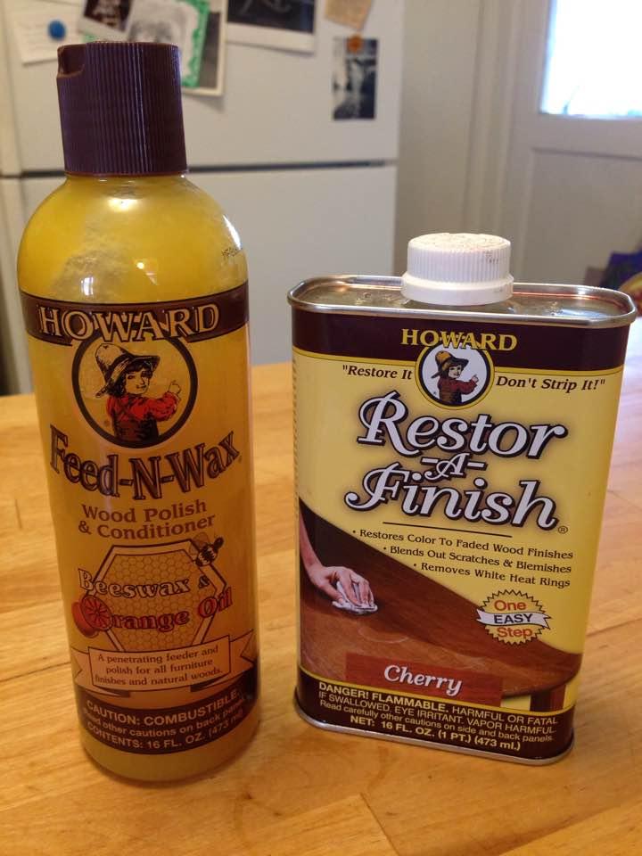 Restore-A-Finish & Feed-N-Wax