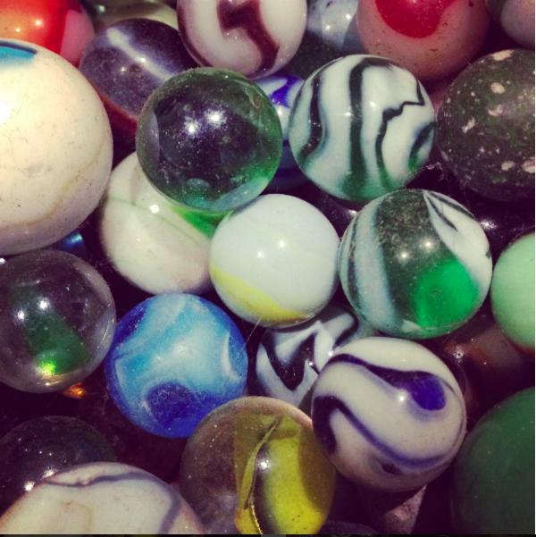 Antique marbles