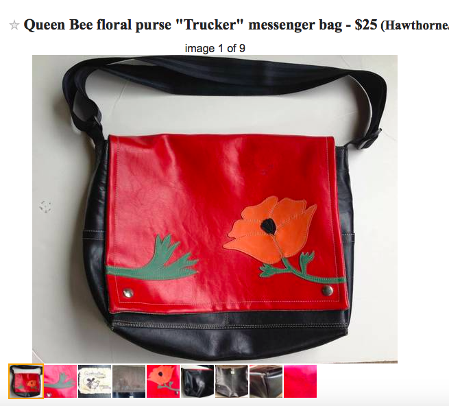 Queen bee purse