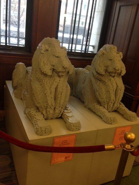 Lego lions