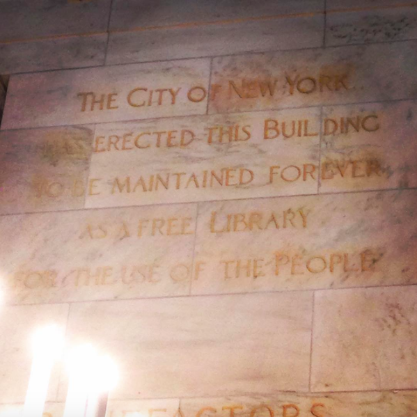 Free library NYC
